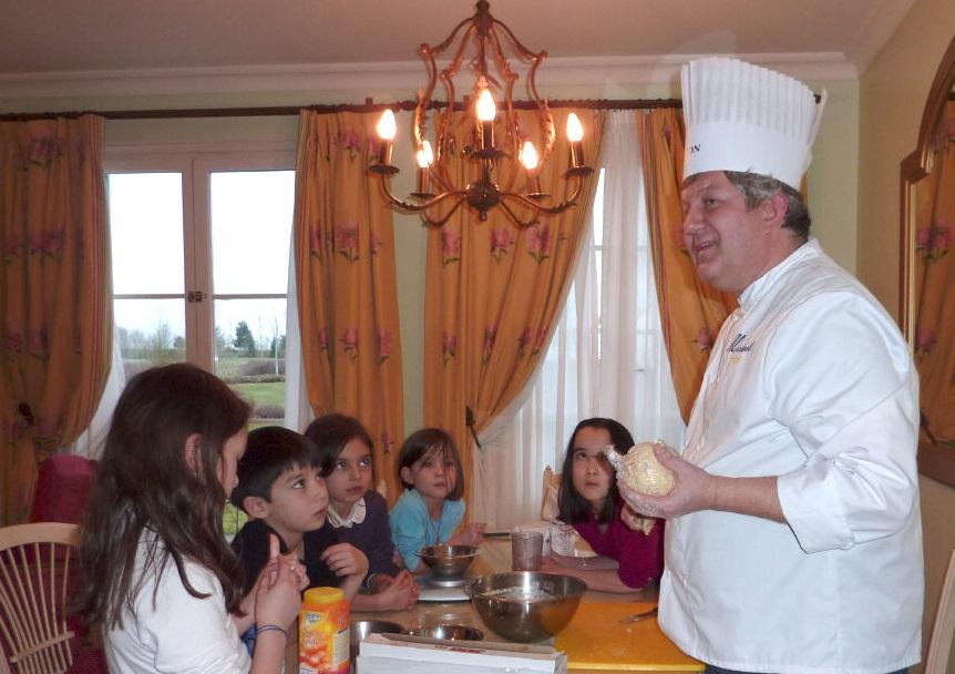 cours de cuisine en anglais